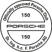 Officially approved Porsche Club 150